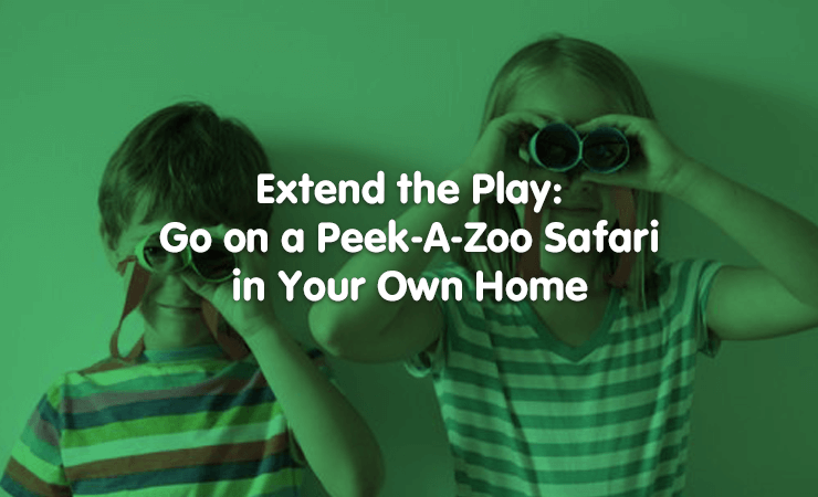 extend the play: peekazoo safari