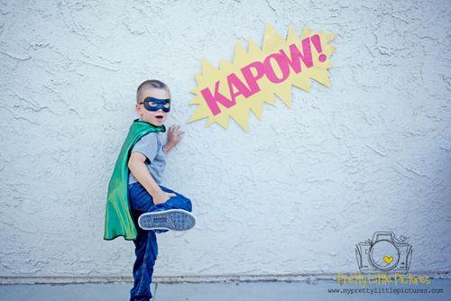 Superhero Photo Story