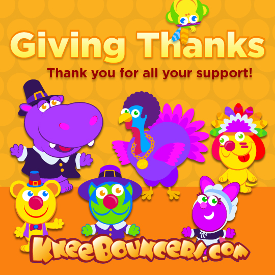 Happy Thanksgiving from KneeBouncers!