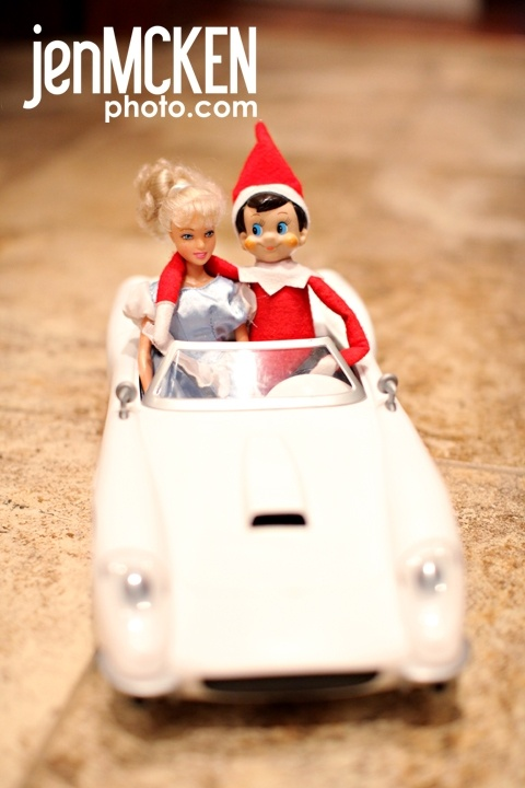 cruising Friday Five: Elf on the Shelf Shenanigans
