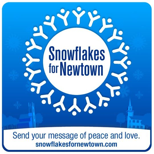 SnowflakesForNewtownKB1 Virtual Snowflakes for Newtown