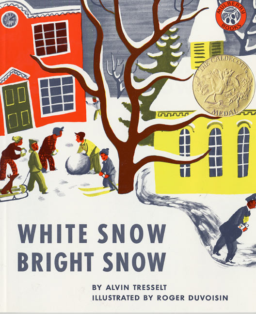 whitesnow brightsnow Five Great Picture Books About Snow