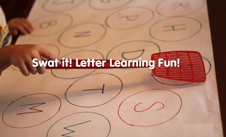 swat it letter learning game