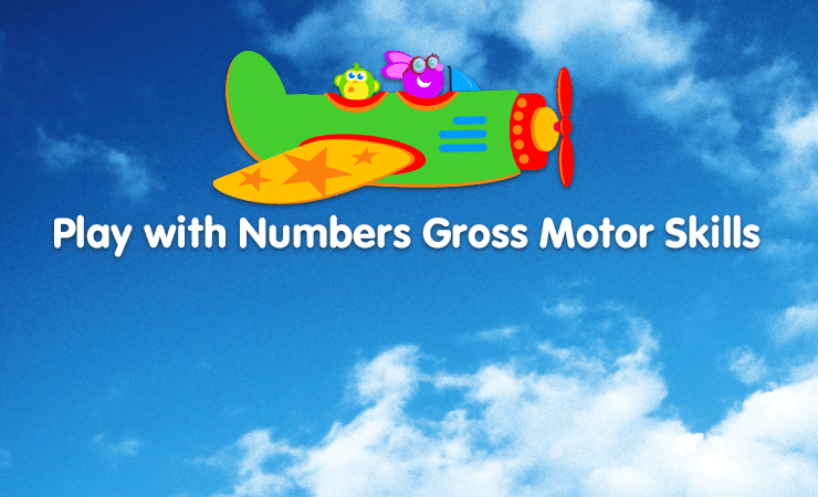 play with numbers gross motor skills game