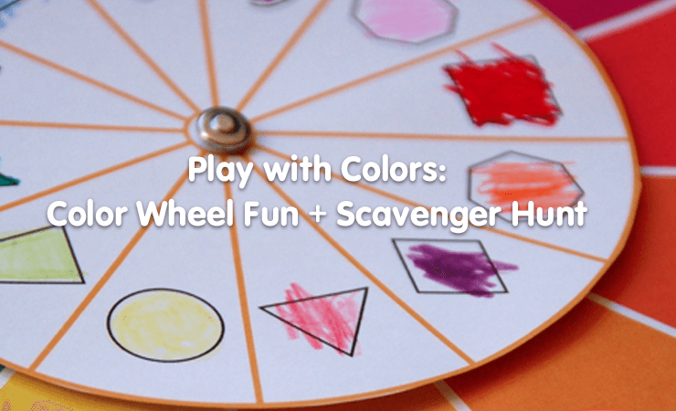 color wheel activity learn colors