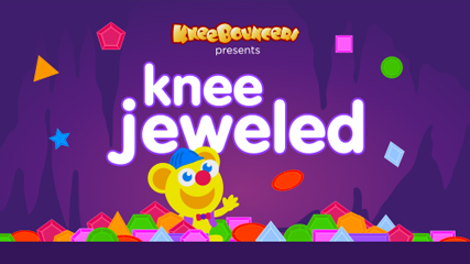 Knee Jeweled