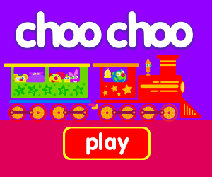 baby game, toddler game, title page, train game, tractor game, car game