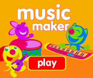 play music, play guitar, play piano, play drum, play along, make up your own songs