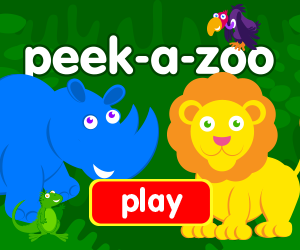 game for baby, game for toddlers, zoo animals, peek-a-boo