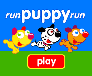 game for baby, game for toddlers, learn numbers, learn counting, puppy race