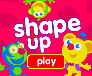 learn shapes, game for baby, game for toddlers