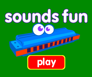 Sounds Fun, game for baby, game for toddlers, learn music, learn sounds