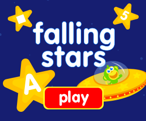 learn shapes, learn letters, learn numbers, game for toddlers, game for preschooler, catch a falling star