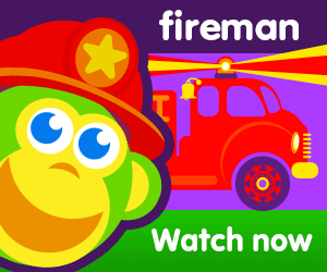 title for sammy's fireman dream episode of the kneebouncers show on babyfirsttv