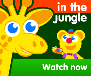 title for in the jungle episode of the kneebouncers show on babyfirsttv