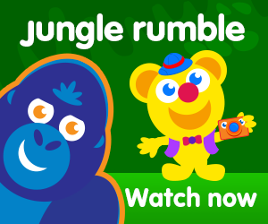 title of jungle rumble for video for baby and toddlers