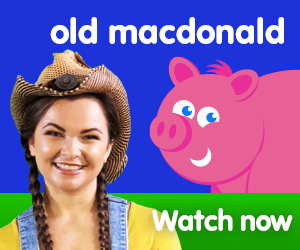 old macdonald had a farm title for Kiki's Music Time music video for toddlers on KneeBouncers