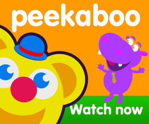peekaboo title of video for baby and toddler