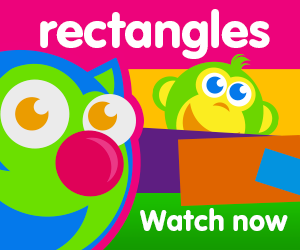 title for rectangles are everywhere episode of the kneebouncers show on babyfirsttv