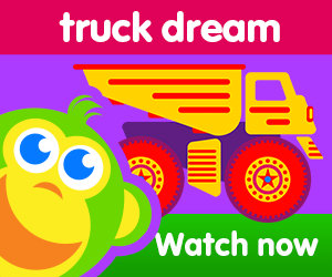 title for sammy truck dream episode of the kneebouncers show on babyfirsttv