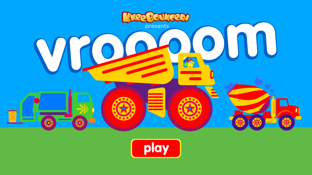 Fun And Easy Big Trucks Game For Toddlers