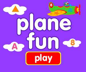 learn numbers, learn counting, game for baby, game for toddlers, airplane game