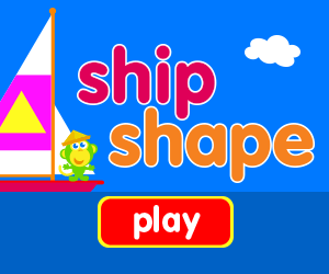 ship shape title, learn shapes, learn letters, learn numbers, game for baby, game for toddlers