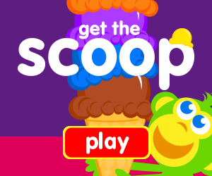catch ice cream scoops, learn shapes, learn letters, learn numbers, game for toddlers, game for preschooler