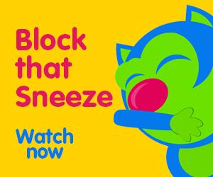 block that sneeze toddler song