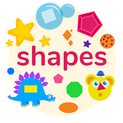 shapes games for toddlers, babies, and preschoolers