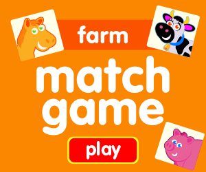 matching game learn farm animals