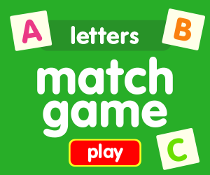 matching game learn letters