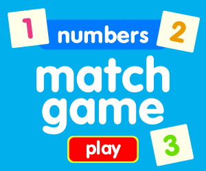 matching game learn numbers