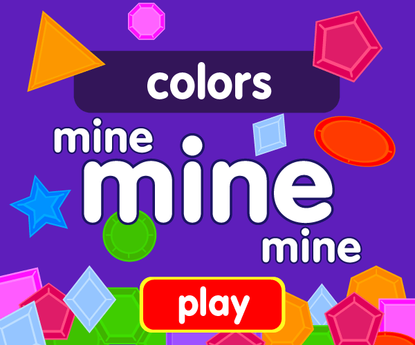 Preschool game, learn colors, jewel catching game