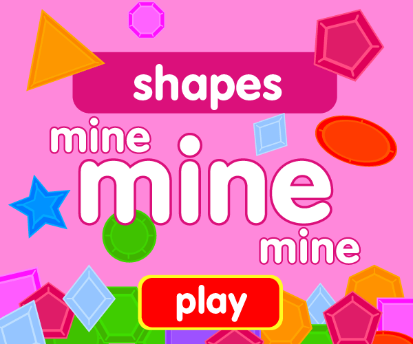 Preschool game, learn shapes, jewel catching game