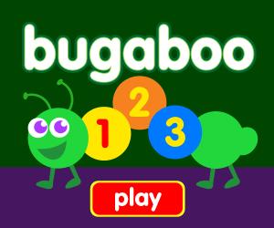 Preschool game, learn numbers, learn counting, bug game