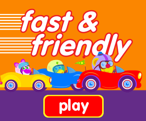 educational game, game for toddlers, learn numbers, learn counting, car race