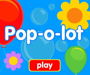 popping bubbles game, popping balloons game, popping flowers game